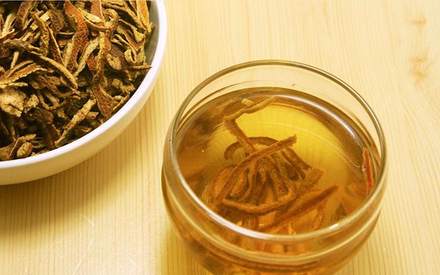陈皮煮水泡普洱也是一道柑普好茶