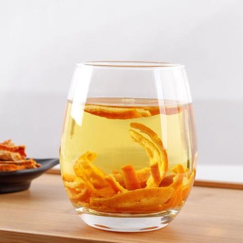 陈皮泡水喝有功效吗?