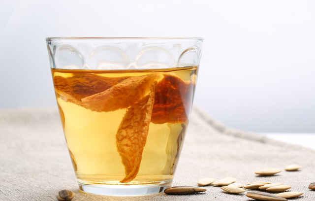 陈皮泡水喝的具体作用都有哪些